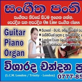 Grade 1-4, Grade 5, Grade 6-9, O/l, A/l Western Music, Eastern Music, Guitar, Keyboard, Piano, Violin Classes In Colombo
