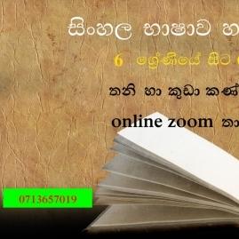Sinhala Language And Literature  Grade 6 -11 And O/l Revision