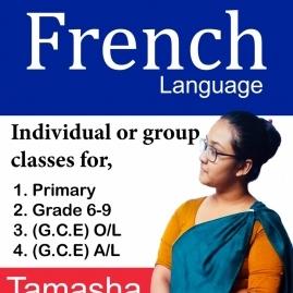 Grade 1-4, Grade 5, Grade 6-9, O/l, A/l English, French Classes In Kandy