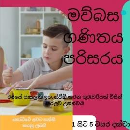 Grade 1-4, Grade 5 Scholarship (Grade 5) classes in Colombo