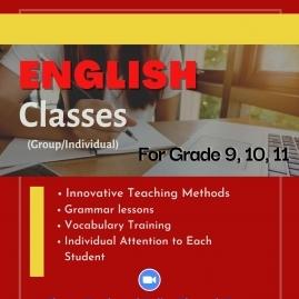 Grade 6-9, O/L English classes in Badulla