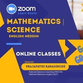 Grade 6-9, O/l Mathematics, Science Classes In Polonnaruwa