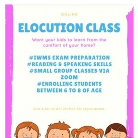 Elocution Classes In Kandy