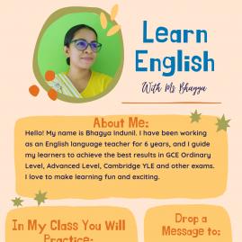 Grade 1-4, Grade 5, Grade 6-9, A/l,o/l And Spoken English Classes In Colombo
